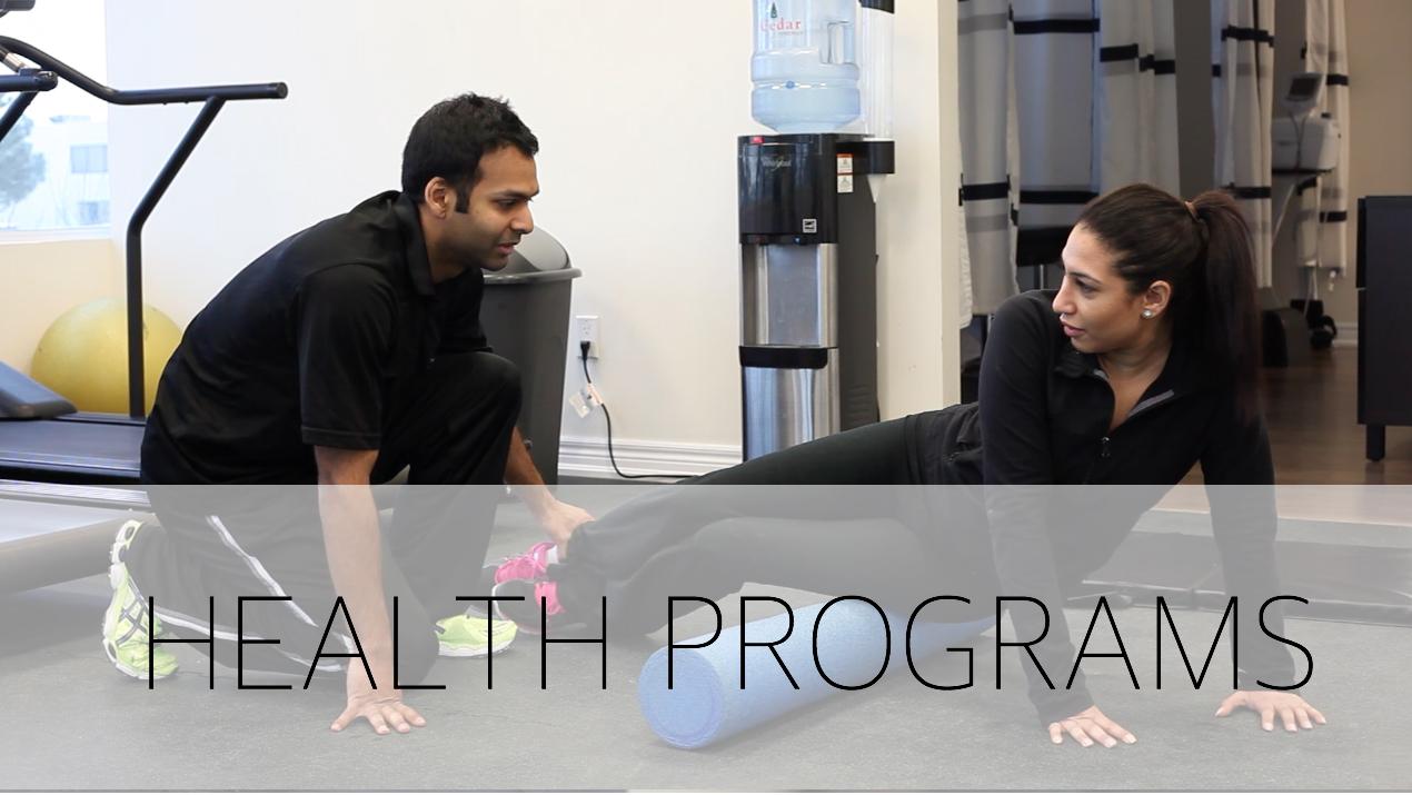 Health programs physiochirowellness Vaughan Newmarket